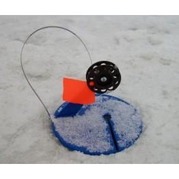 Жерлицы зимние Akara оснащенные 10 шт. в сумке (диаметр 20 см)